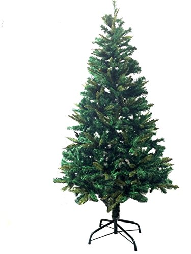 6' Ft Premium 1200 tips Canadian Pine Frasier Fir Green Artificial Christmas Tree PLUSH & FULL - Unlit With Metal Tree Stand by LavoHome (Frasier Christmas Tree)