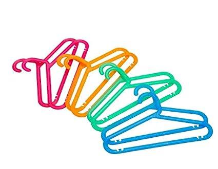 BAGIS - IKEA - Childrens Coat-Hanger Pack of 8 PCS Assorted Colours Mixed Colours