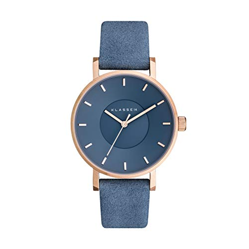 Klasse14 Miss Volare Leather Band Adriatic Blue Dial Women's Watch #VO17MV003W