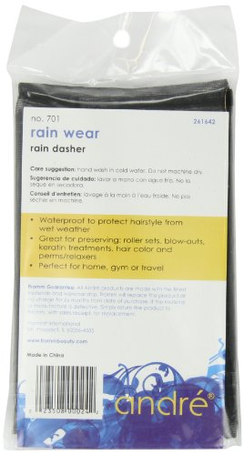 Andre Rain Wear 701 Rain Dasher, Black, One Size Fits All