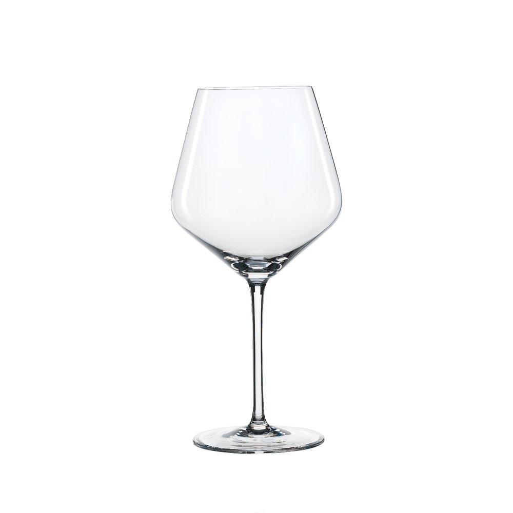 Spiegelau Style Burgundy Wine Glasses - (Set of 4, Clear Crystal)