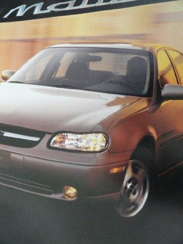 2002 Chevy Chevrolet Malibu Sales Brochure