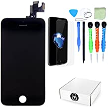 Unlockr Certified iPhone 5C LCD Screen Replacement Full Assembly + Camera With Bonus Tempered Glass