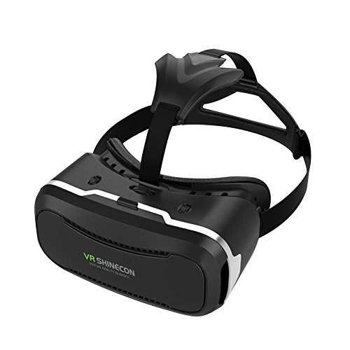 3D Virtual Reality Headset, Upgraded 2nd Generation 3D VR Glasses Virtual Reality Box for 3D Movies Video Games, for iPhone 7 Plus/ 6s PlusSamsung Galaxy S7 S6 and other 4.0-6.0 inch Smartphone
