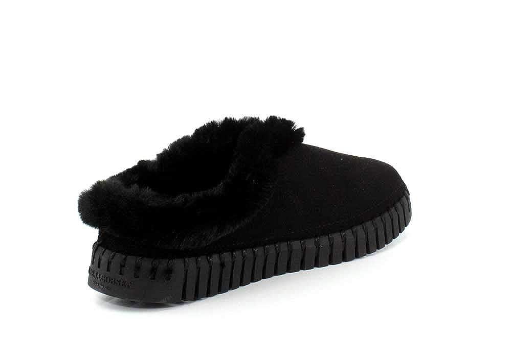 79b70b7856486 Amazon.com: Ilse Jacobsen Tulip3150 Womens Slippers Black: Shoes