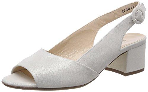 White Women's Heels Peter Weiss 457 Open Caty Star Kaiser Toe x45qUvwYq