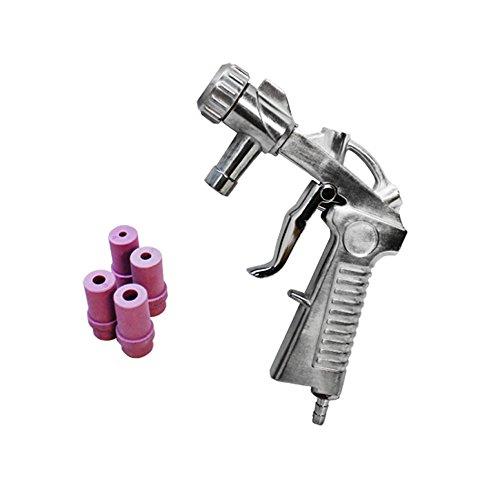 Air Siphon Feed Media Sandblaster Blast Gun Siphone Air Gun Ceramic Nozzles by Generic