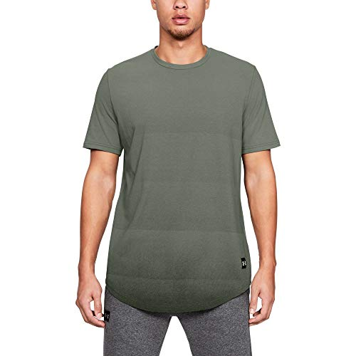 Under Armour Men's sportstyle Gradual Short sleeve, Moss Green (492)/Artillery Green, - Green Mens Moss