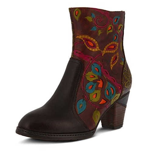 Boot L`Artiste Womens Chocolate Womens L`Artiste Multi Natasa zZZqIr