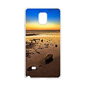 Attractive Sunrise Sky White Phone Case for Samsung Galaxy Note4