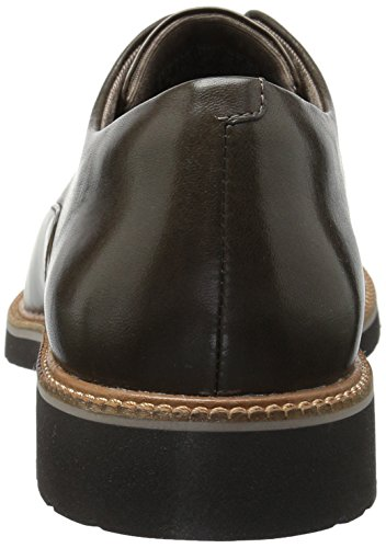 Rockport Dames Total Motion Abelle Slipon Oxford Bruin / Metallic