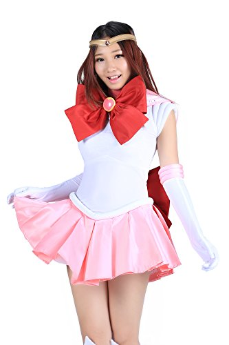 Chibiusa Sailor Moon Costume (SDWKIT Sailor Moon - Sailor Chibi Moon Tsukino Chibiusa 1st Set)