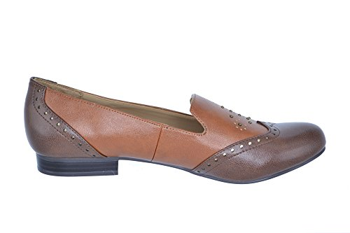 Naturalizer Women's Landry Loafer. Brown Multi Smooth, 8M US