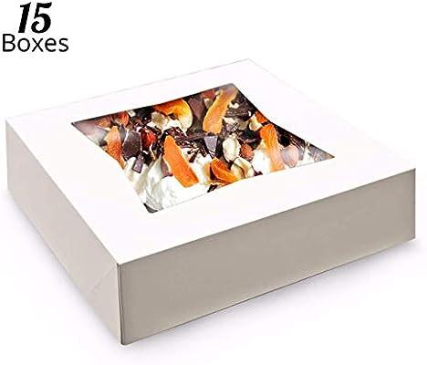 Cajas para tartas de color blanco de Pie Boxes, cajas para ...