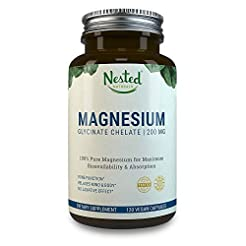 Magnesium GLYCINATE CHELATE 200 mg | Non...