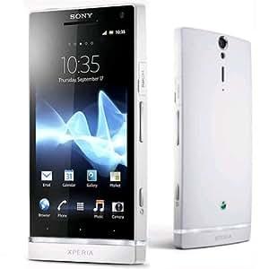 Sony Xperia U St25i (White+ 1 Additional Bottom Cap):Unlocked GSM Phone