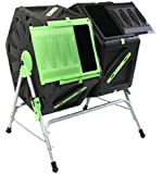 Good Ideas 140 Litre (2x 70Litre) Twin Chamber Tumbling Composter (TMK-01577)