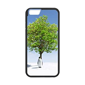 Best Slim Penguin Case Cover for iPhone 6 For Impact Protection Super Fit iPhone 6 TPU(Laser Technology) - 4.7 inches