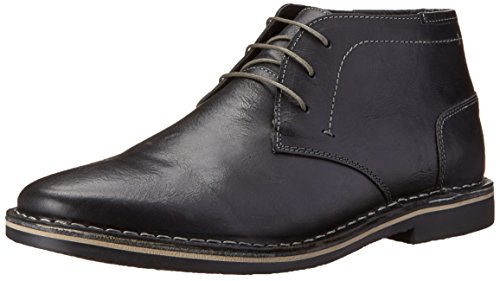 Steve Madden Men's Harken Chukka Boot, Black, 14 M US