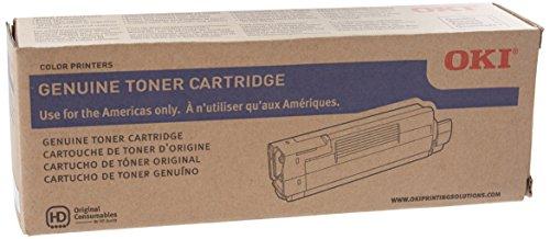 Oki Magenta Toner Cartridge, 6000 Yield (43865718)