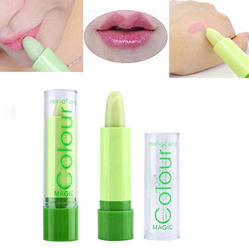 Value-Home-Tools - 1pc Lipbalm Color Temperature Change Color Lipstick Moisture Anti-aging Protection Moisturizing Fruit Lip Balm Makeup Maquiagem