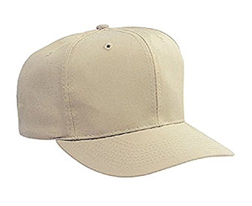 Hats & Caps Shop Cn Twill Pro Style Caps - Khaki - By (Knitting Woven Stitch)
