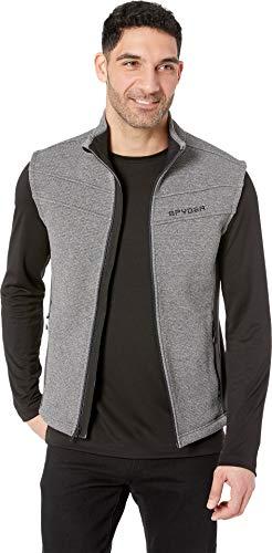Spyder Men's Encore Vest Core Sweater, Ebony, Medium ()