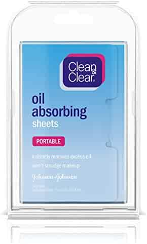 Clean & Clear Oil Absorbing Sheets, 50 Count