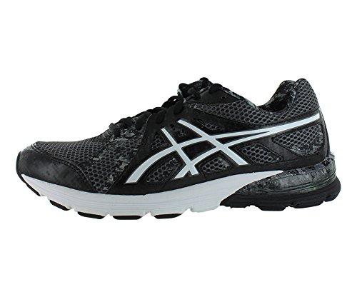 ASICS Men's Gel Preleus Running Shoe,Black/White/Storm,8.5 M