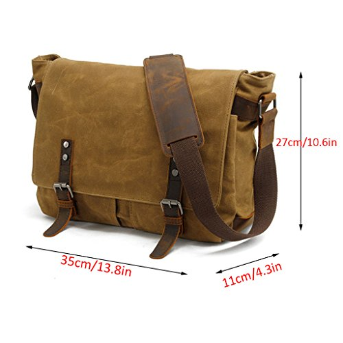 Satchel Outdoor Men's Shoulder Laptop College Hiking Bags Backpack Briefcase School Canvas Ppge Gym black For Everyday Bag Crossbody Sport Travel Messenger Casual qT5wxOtzn