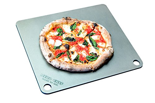 NerdChef Steel Stone - High-Performance Baking Surface for Pizza (.25