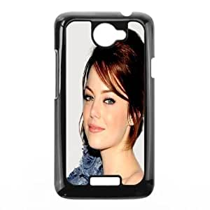 HTC One X Cell Phone Case Black Beautiful Emma Stone FY1500007