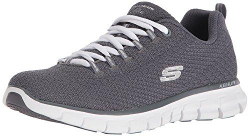 tela para Zapatillas de mujer gris Skechers PORE6xH