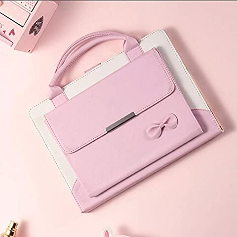 amhello Lovely Handbag Synthetic Leather Magnetic Stand Case Cover with Auto Sleep / Wake function for iPad Air 1st/Air 2/Pro 9.7/New iPad 9.7 2017 Released - Baby (Ipad 2 Air Magnetic Cover)