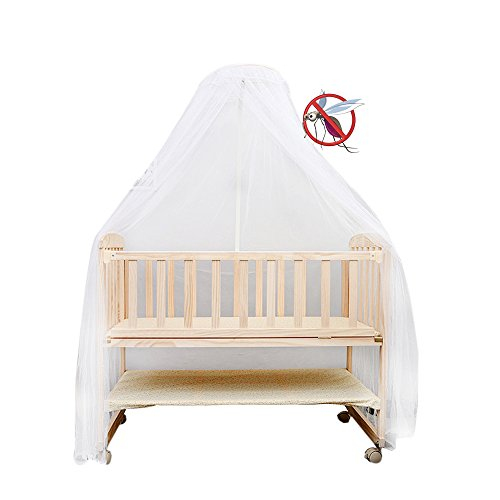 Canopy Newborn Beds - Sealive Baby Nursery Mosquito Net Baby Toddler Bed Crib Canopy Netting Dome Hanging Mosquito Soft & Breathable Kids Bed Crib Netting