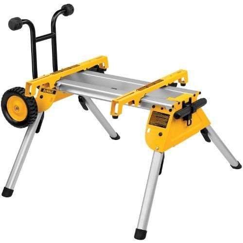 Folding Rolling Wheel Table Saw Stand Bench Heavy Duty Miter