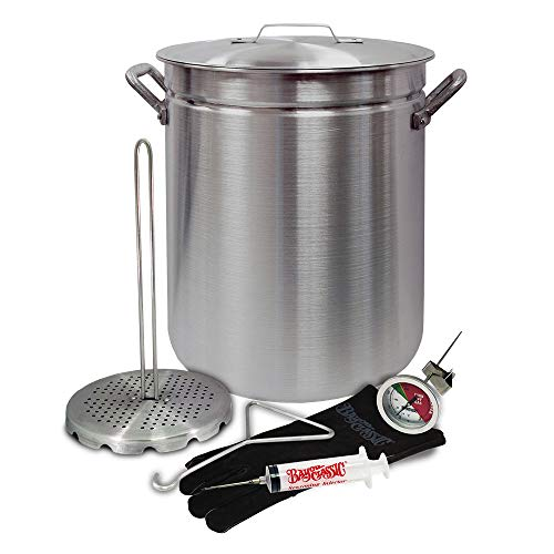 Sale!! Bayou Classic 4225 42Qt Alum Turkey Fryer