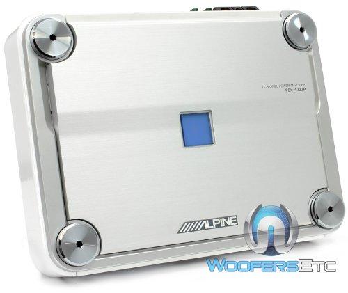 Alpine PDX-4.100M Marine 4/3/2 Channel Power Density Digital Amplifier