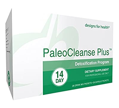 Designs for Health - PaleoCleanse Plus - 14 Day Detox - Shakes + Capsules Included