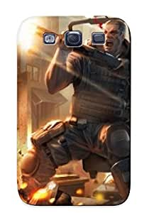 Galaxy S3 Ikey Case Cover Skin : Premium High Quality Born To Fire Case(nice Choice For New Year's Day's Gift)