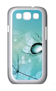 Light Drop Polycarbonate Hard Shell Case Cover for Samsung Galaxy S3 / SIII/ I9300 - White