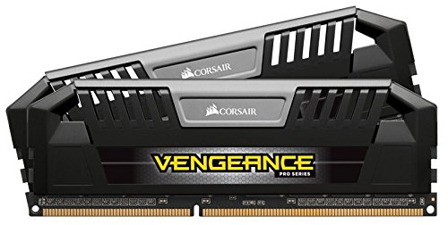 Corsair Vengeance Pro 16GB (2x8GB) DDR3 DRAM 2133MHz (PC3 17000) C11 Memory Kit - Black 1.5V by Corsair
