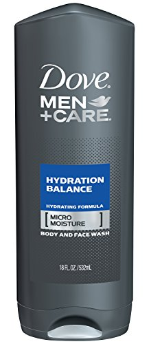 Dove Men + Care Body Wash, équilibre d'hydratation, 18 onces