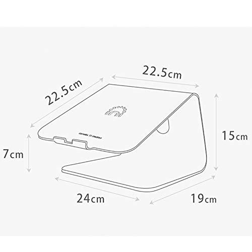 Amazon Com Portable Aluminum Laptop Table Standing Table Monitor