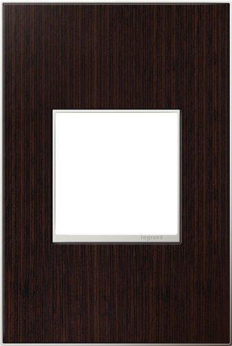 Legrand (AWM1G2WE4) adorne Wenge Wood, 1-Gang Wall Plate by Legrand (Wall Wenge Frame)