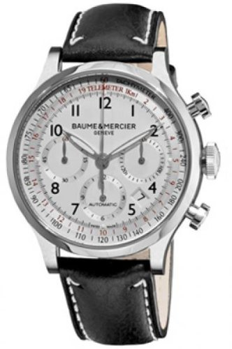 Baume and Mercier Capeland Chronograph Men's Automatic Watch MOA10005