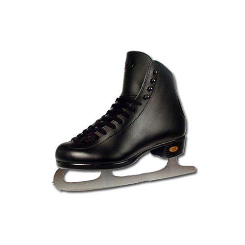 Riedell Black 21J Kids Figure Ice Skates - 2.0/Black by Riedell