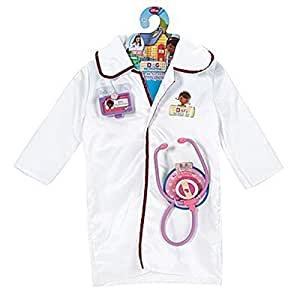 Disney Doc McStuffins Dress Up Doctor Coat Costume Set by Just Play