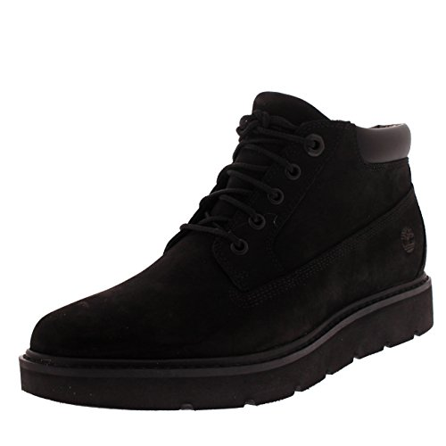 Timberland Womens Kenniston Nellie 6 Inch Black Lace Up Nubuck Boots - Black - 10