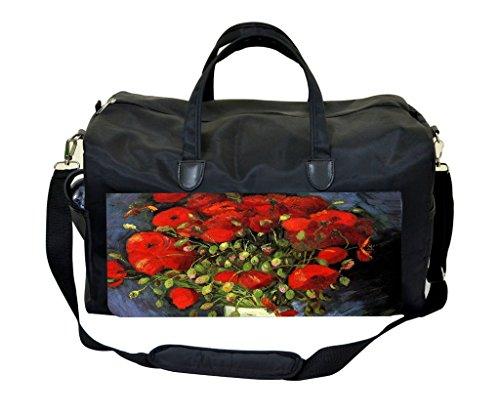 Vincent Van Gogh Vase with Poppies Therapist Bag
